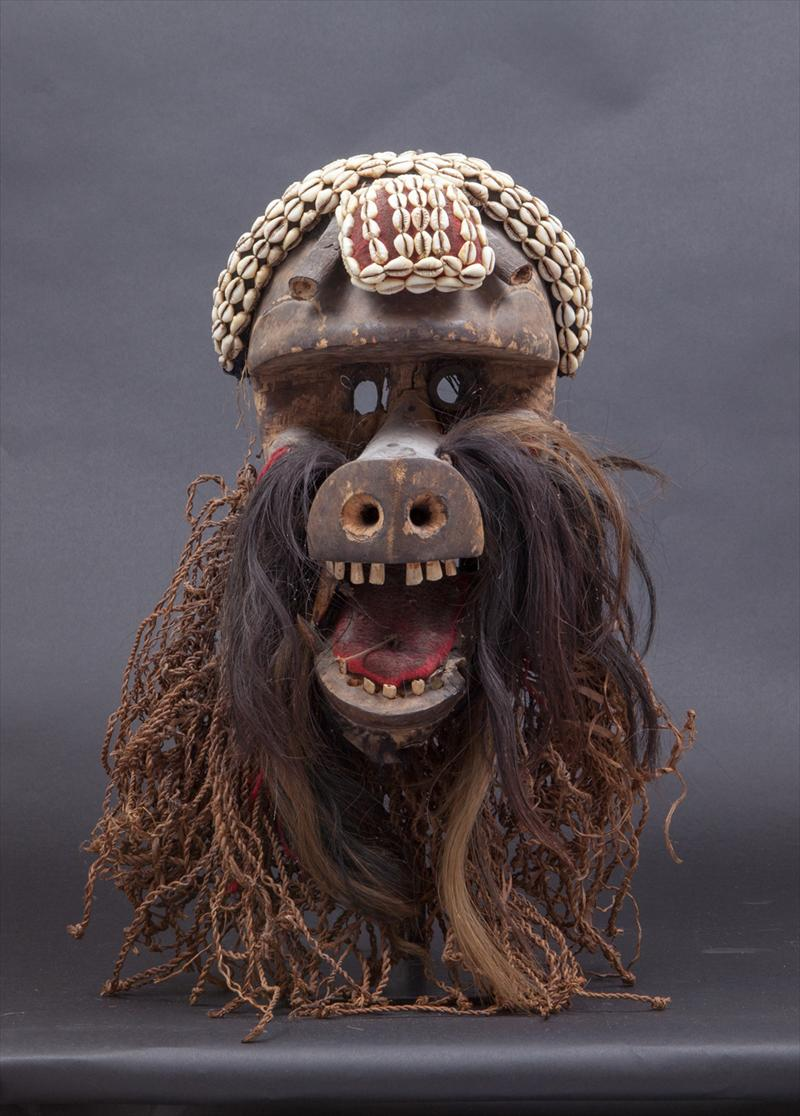 IGavel Auctions West African Animal Mask 20th Century