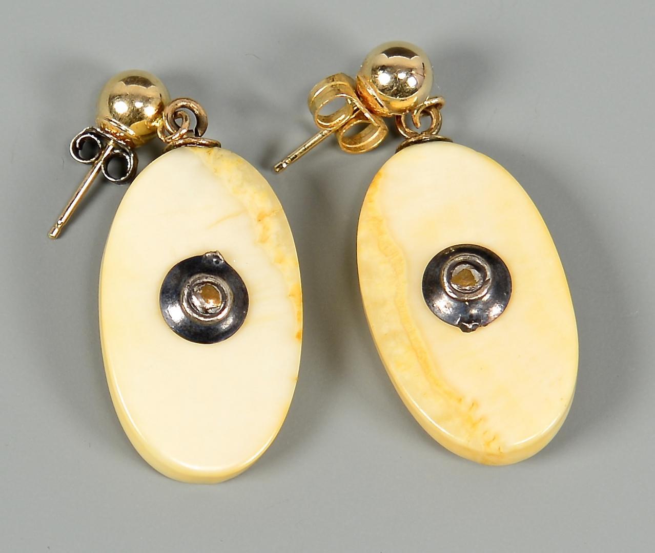 Igavel Auctions Alaskan Scrimshaw Ivory Amp Gold Nugget