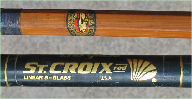 Igavel Auctions Two Vintage Fishing Rods Montague And St