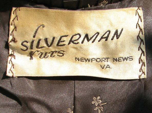 Igavel Auctions Vintage Fur Wrap And Hat By Silverman