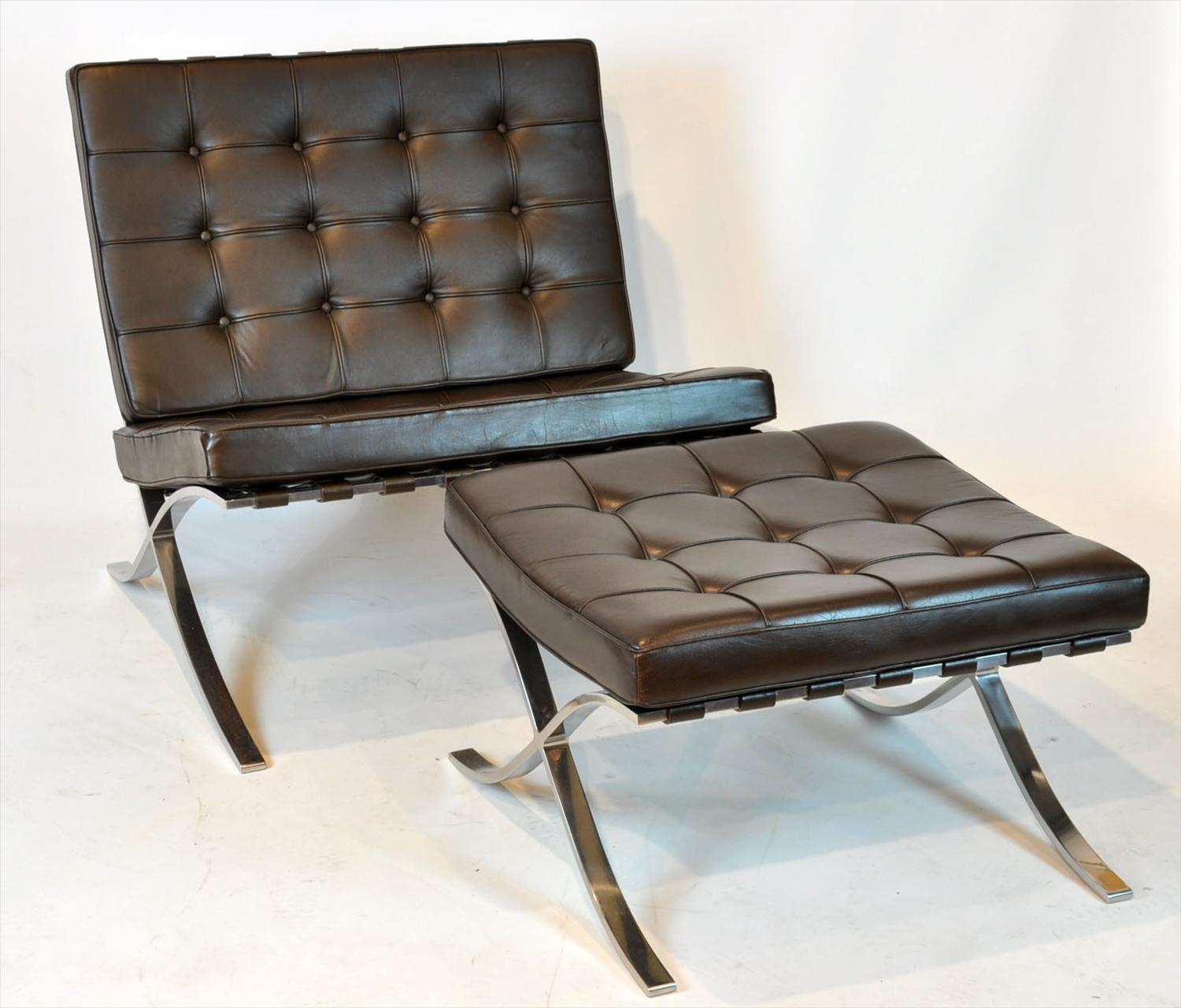 iGavel Auctions Pr Knoll Barcelona Chairs & Stools 20th C C7KFF