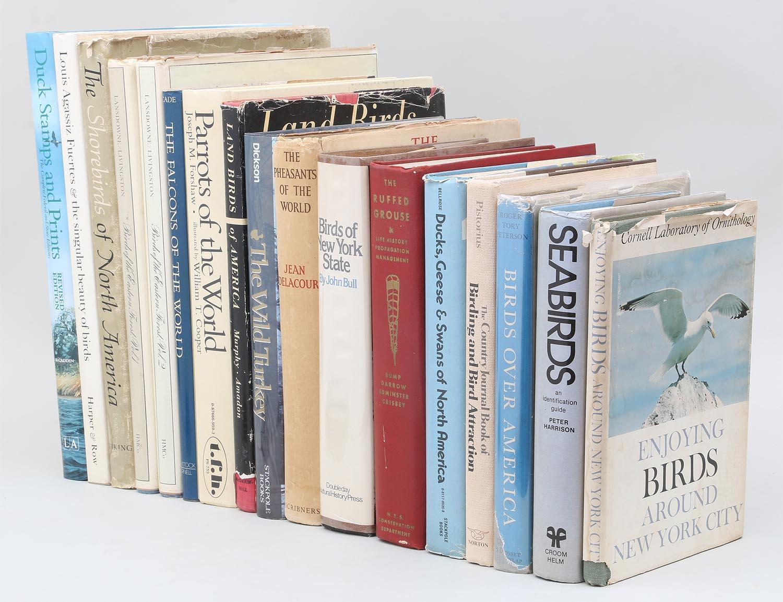Group of (17) bird books. FR3SH.