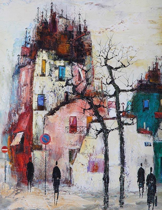 Igavel Auctions Maurille Prevost Village Street Scene Fr3sh