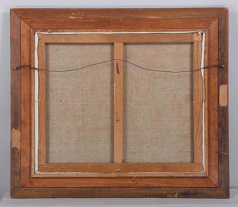 igavel auctions maurille prevost village street scene o. Black Bedroom Furniture Sets. Home Design Ideas