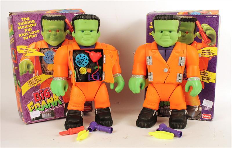 Igavel Auctions Two Vintage Frankenstein Big Frank
