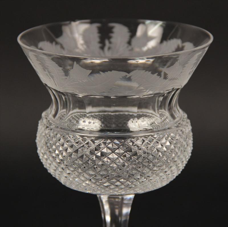Igavel Auctions Edinburgh Crystal Quot Thistle Quot Pattern