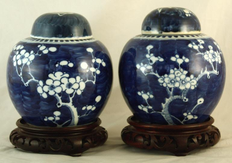 Igavel Auctions Two Chinese Qing Guangxu Hawthorn Ginger