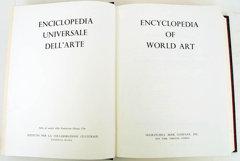 Igavel Auctions 15 Vols The Encyclopedia Of World Art