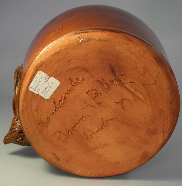 Igavel Auctions Brown S Pottery Arden Nc Charles Brown