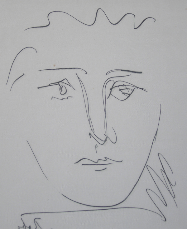 iGavel Auctions: Pablo Picasso (Spanish, 1881-1973) etching, L\'Age ...