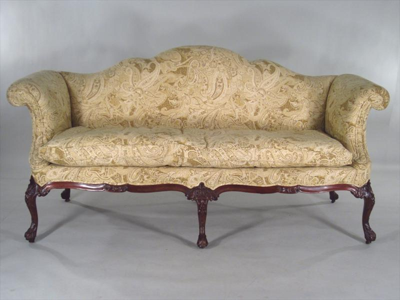 Igavel Auctions Georgian Camelback Sofa Possibly Irish 18th C L6bc3