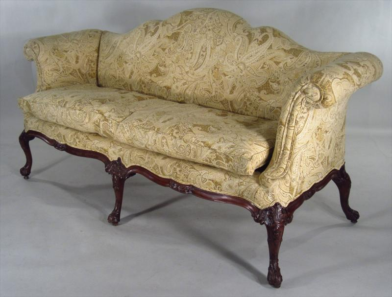 Antique Camel Back Sofa A Vintage Chippendale Camel Back Sofa Northgate Gallery Antiques Thesofa