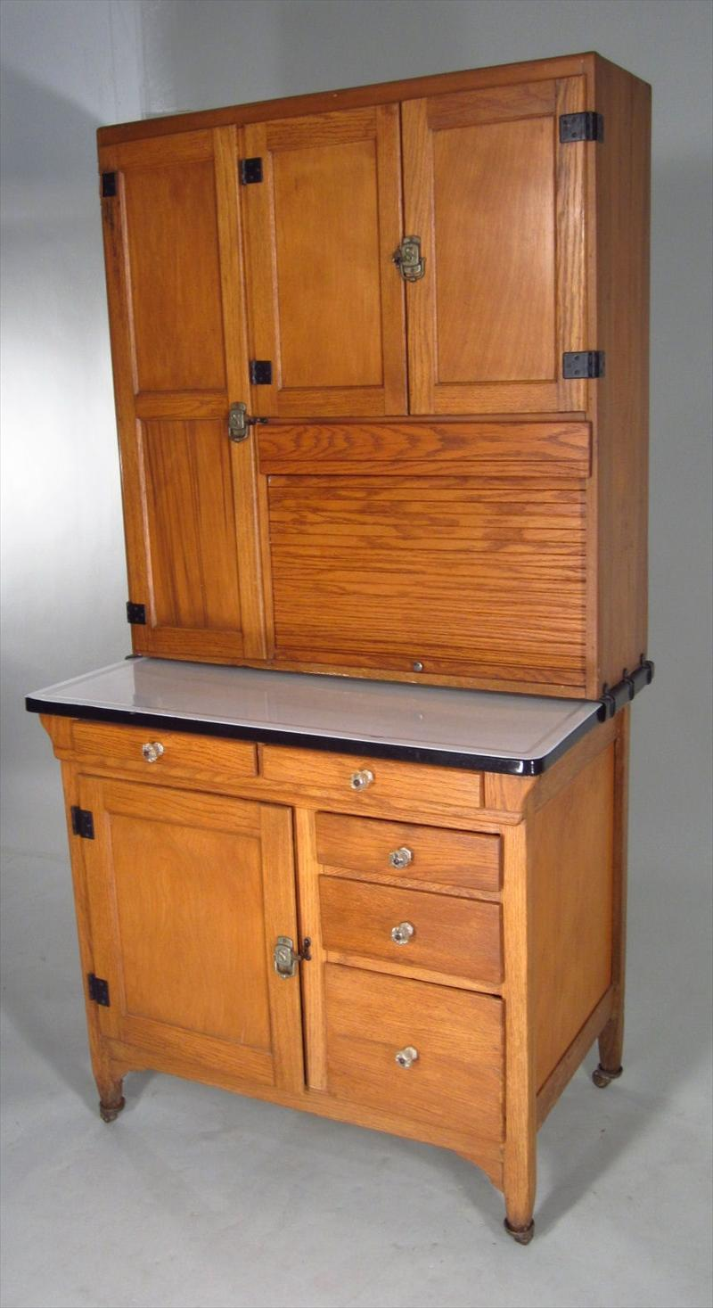 Auctions Hoosier Baking Cabinet Made By Sellers Kitchen Cabinets