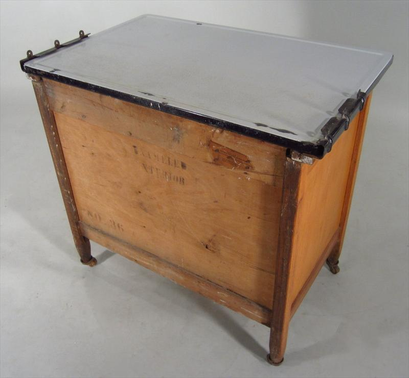 Sellers Kitchen Cabinet: IGavel Auctions: Hoosier Baking Cabinet, Made By Sellers