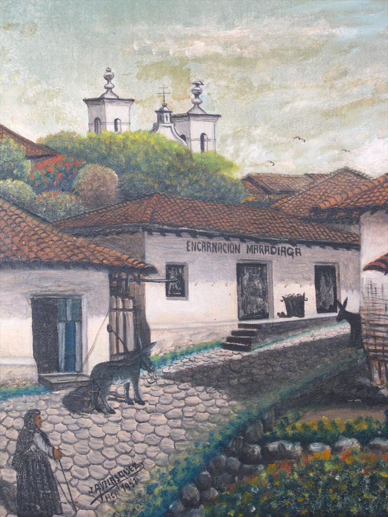 Jose Antonio Velasquez, Framed Painting |Jose Antonio Velasquez Paintings