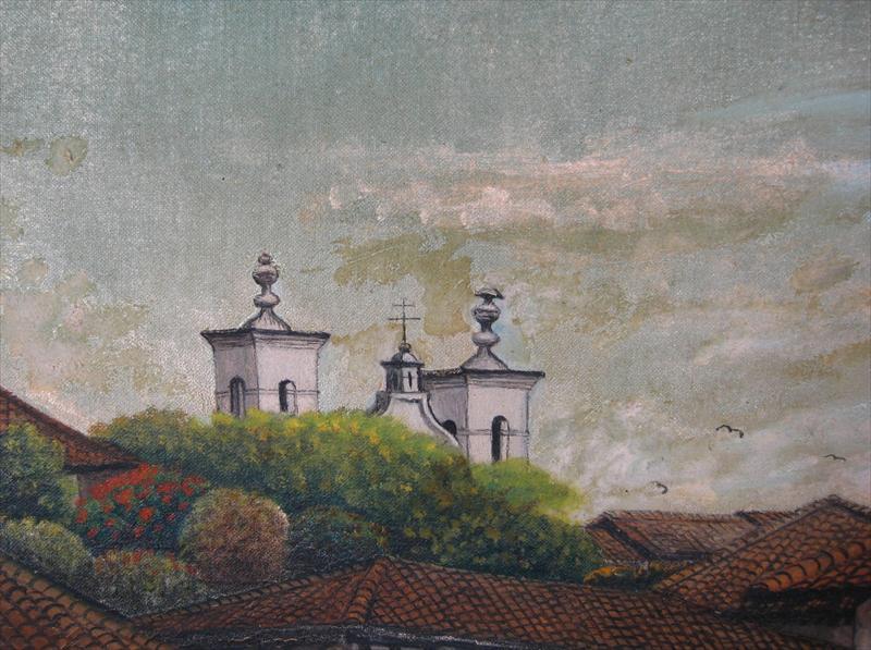 Lot - Jose Antonio Velasquez, San Antonio Oriente ... |Jose Antonio Velasquez Paintings