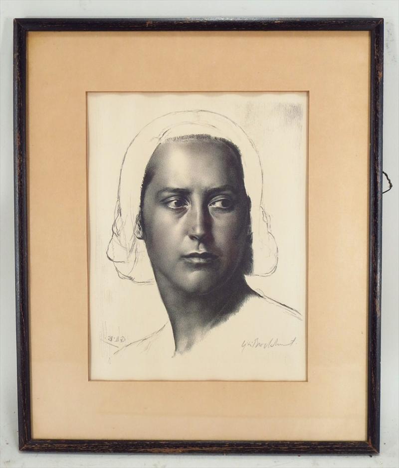 Igavel Auctions Gerald Leslie Brockhurst British 1890