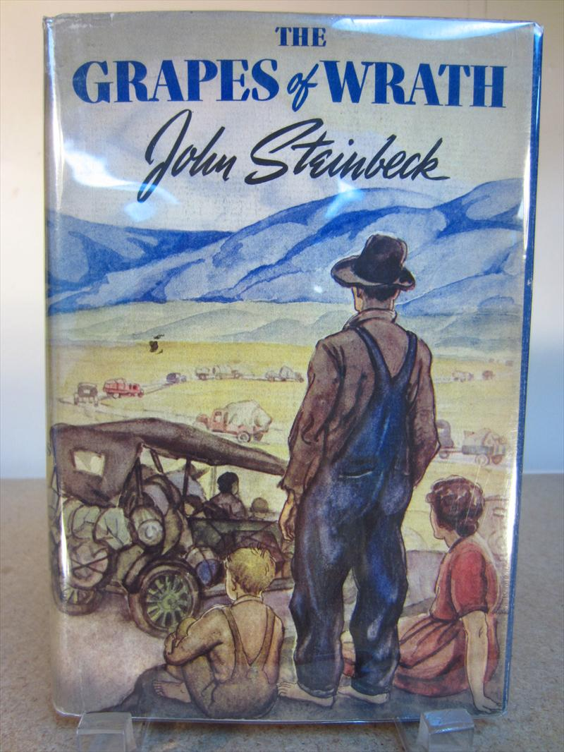 biblical allusions and imagery in john steinbecks grapes of wrath Biblical symbolism in john steinbeck's the grapes of wrath - dr sirinya pakditawan - term paper - american studies - literature - publish your bachelor's or.