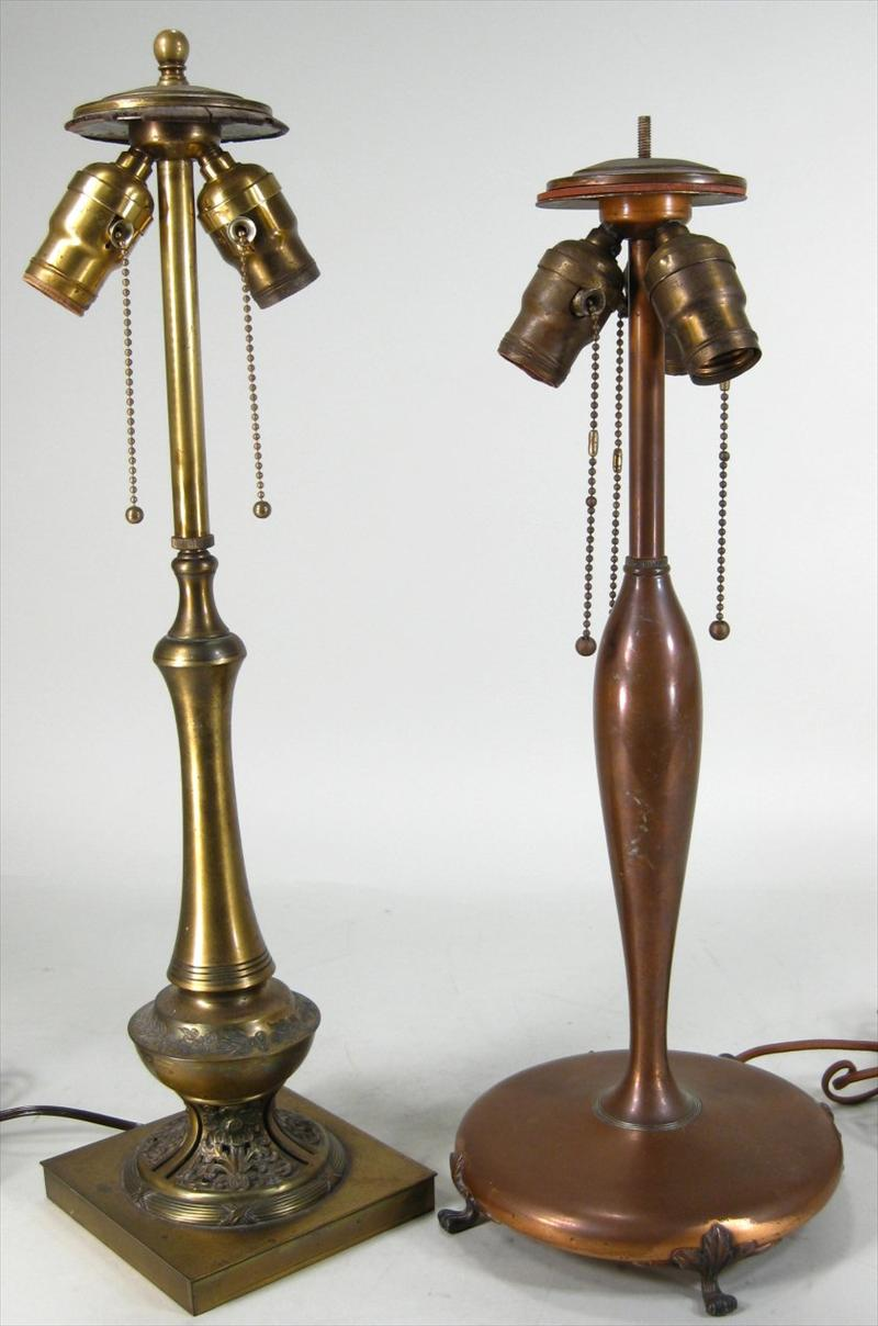 iGavel Auctions: Group of Eight Art Nouveau and Art Deco Pairpoint ...