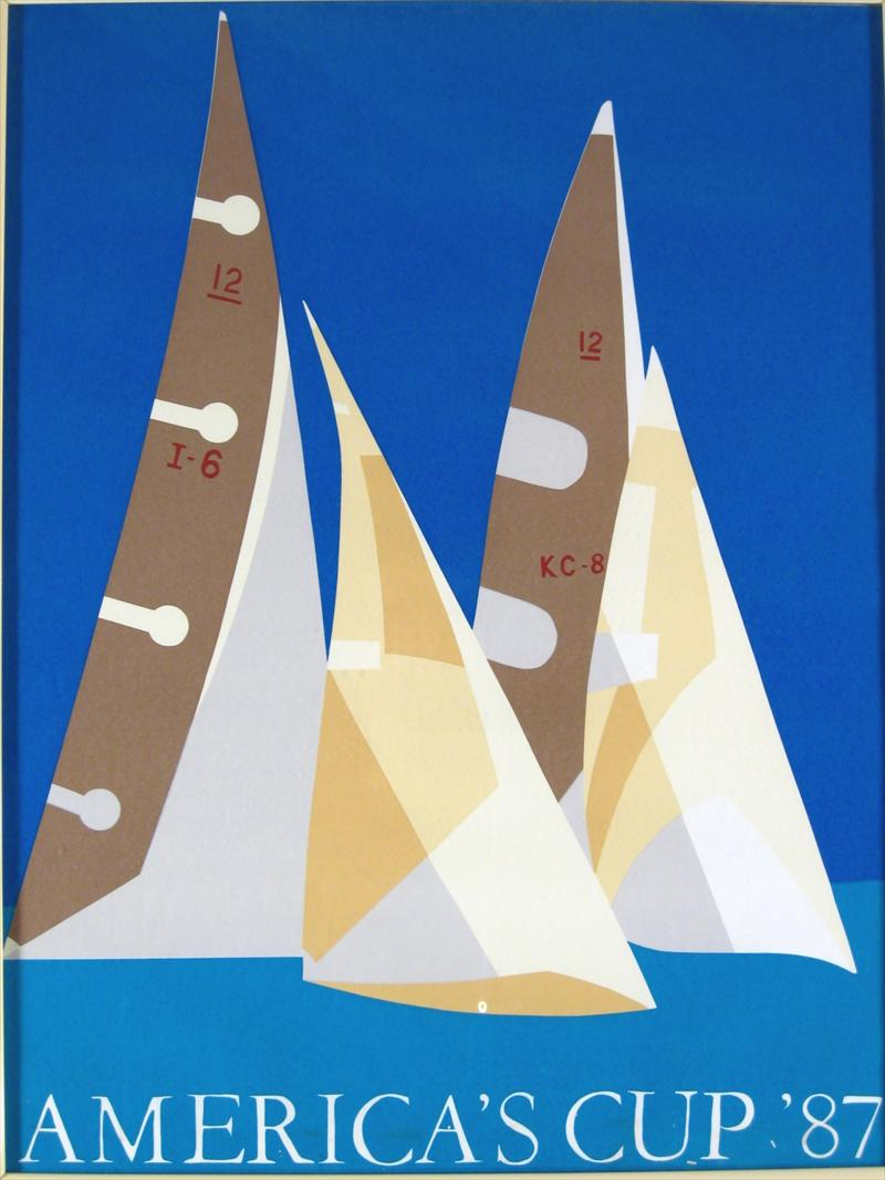 Igavel Auctions 3 Sailing Prints Incl America S Cup