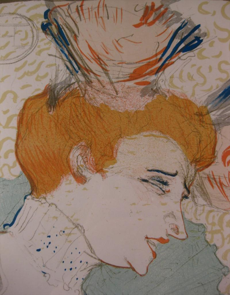 Igavel auctions henri toulouse lautrec french 1864 1901 - Mademoiselle marcelle ...