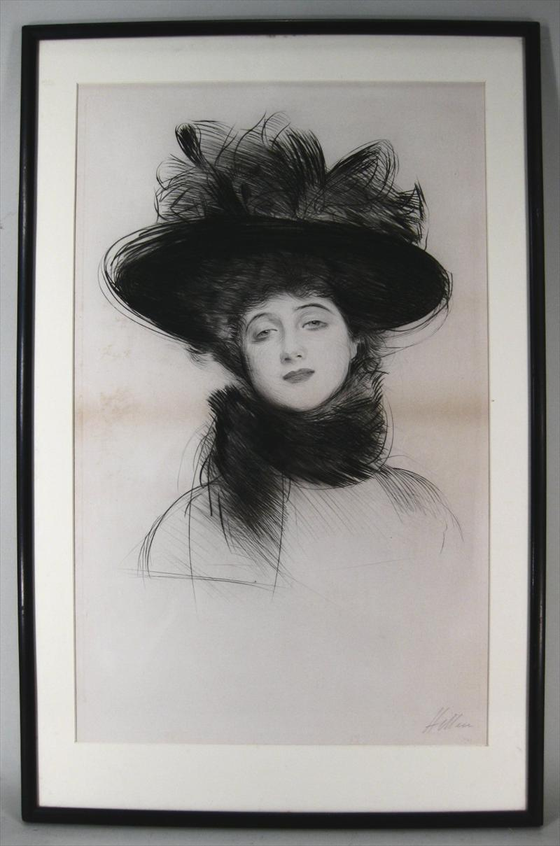 Igavel Auctions Paul Cesar Helleu French 1859 1927