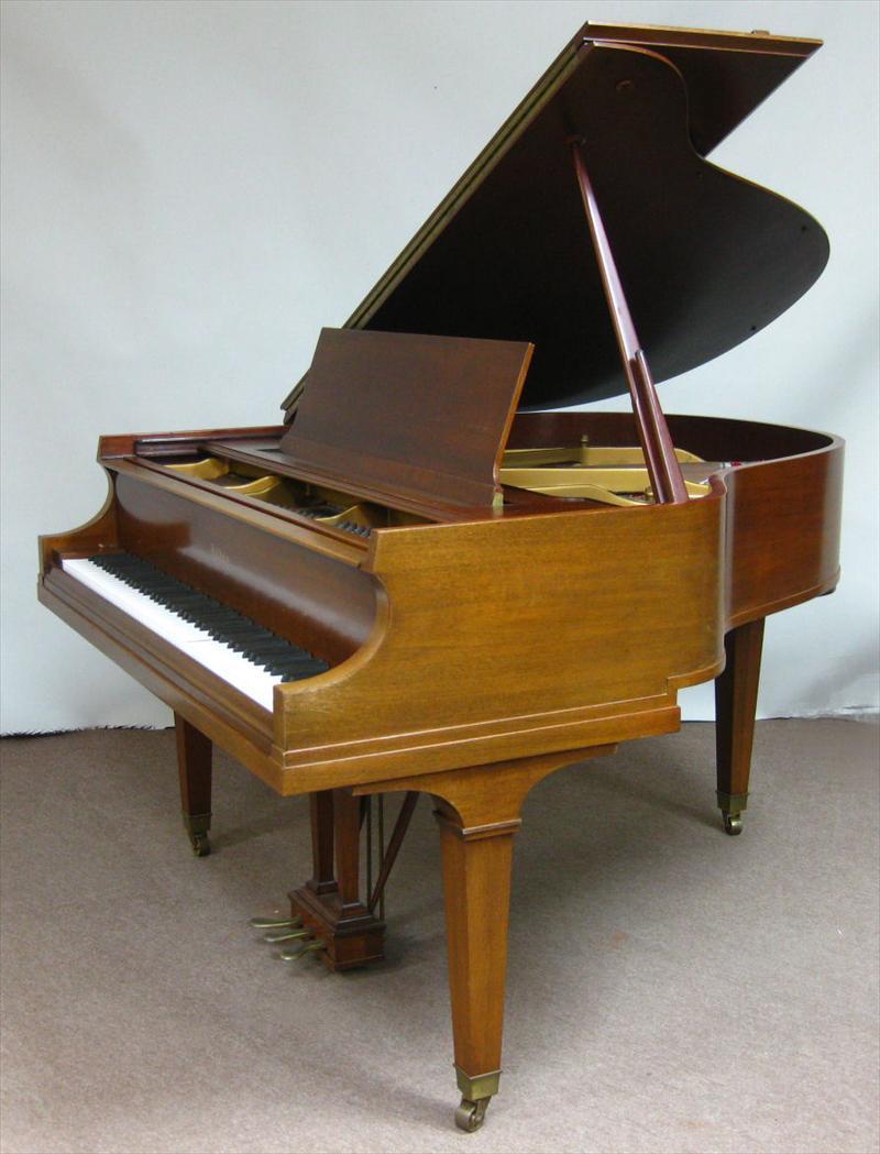 Igavel Auctions Baldwin Mahogany Baby Grand Piano And