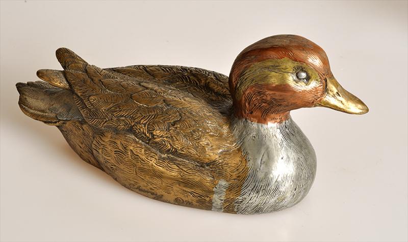 Igavel Auctions Four David Chesney Bronze Ducks W8emf