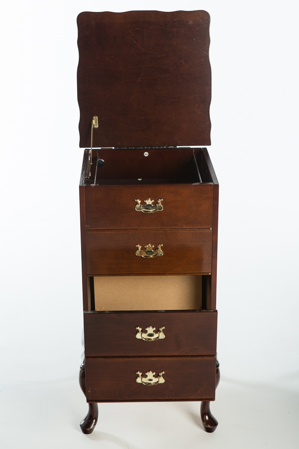 iGavel Auctions: Contemporary Queen Anne Style Filing Cabinet and ...