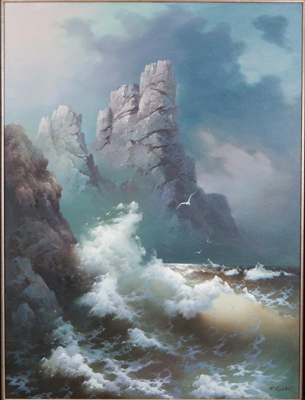Eugene Garin Oil Paintings