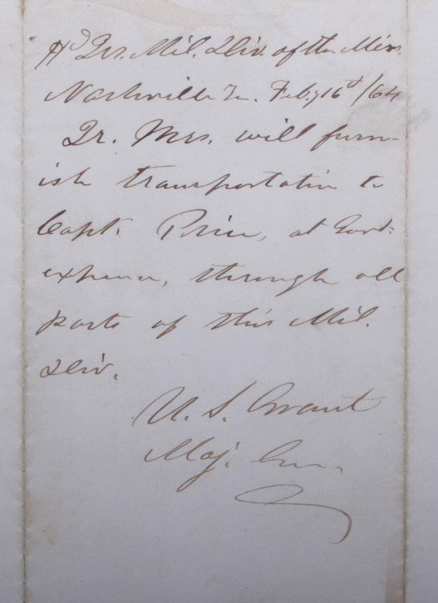 IGavel Auctions An 1864 Letter From General James H