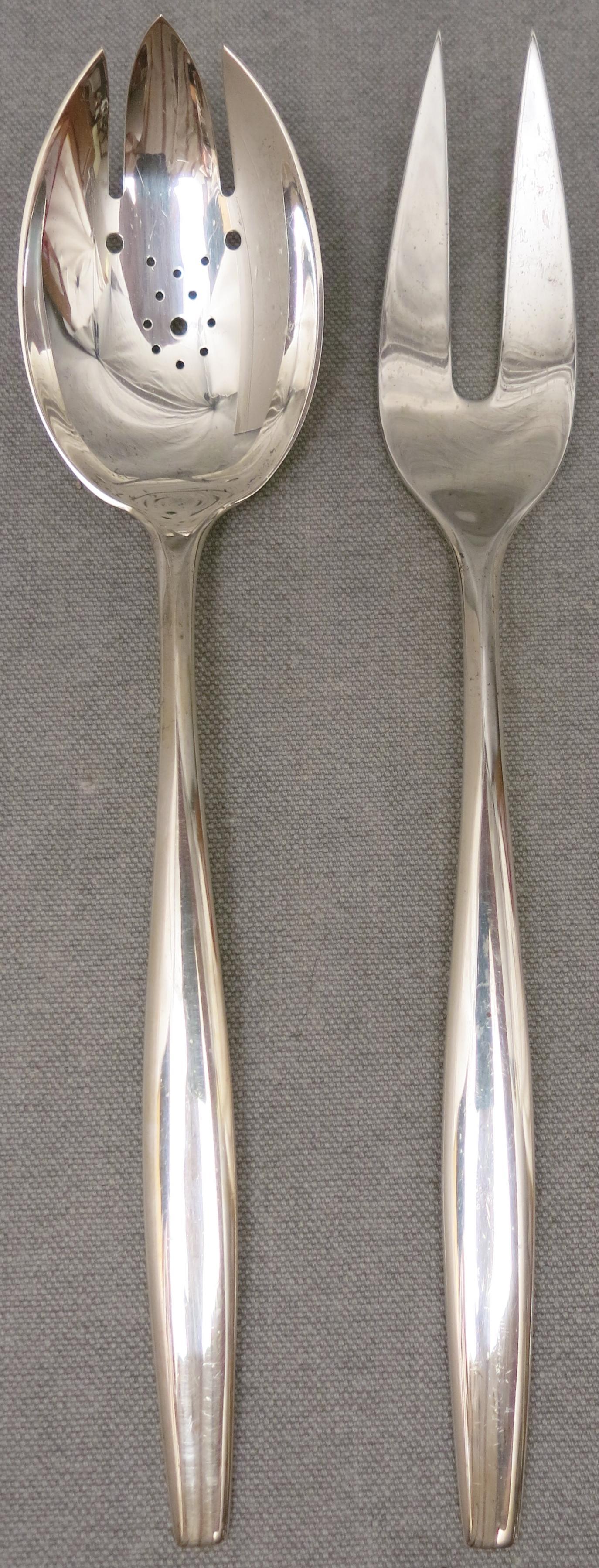 Sterling Flatware Kirk Signet Fork