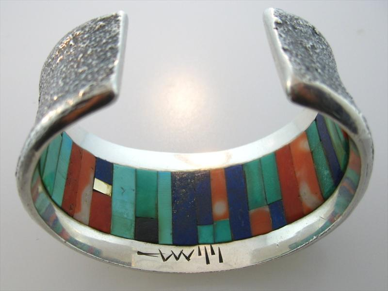 charles loloma jewelry igavel auctions charles loloma cuff bracelet 8132