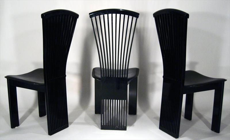 Fresh Great Ideas Of Black Lacquer Dining Chairs - Best Home Design  UL57